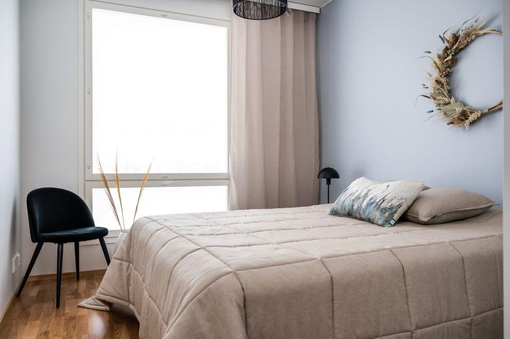 Pateniemenrannan uudet asunnot on helppo sisustaa.